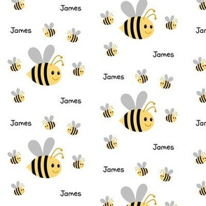 Buzzy Bee2  - Medium Personalized JAMES