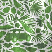 La Jungla Vocho [green+white]