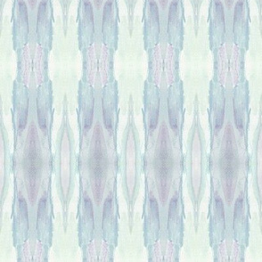 Faded Feather Stripe  Blue & Lilac