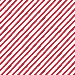 red stripes || candy stripe