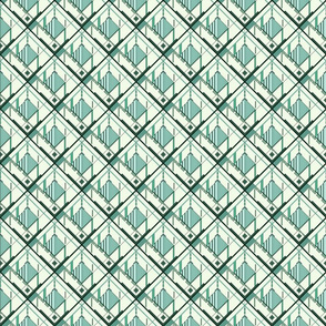 Disco Shirt Pattern Green 01-ed