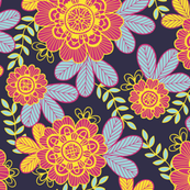 Flower garden (colorful)