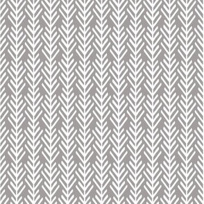 Gray & White Arrows