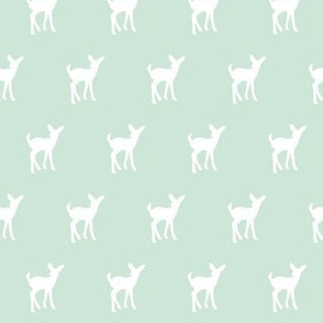 fawn (small scale) - mint || holiday