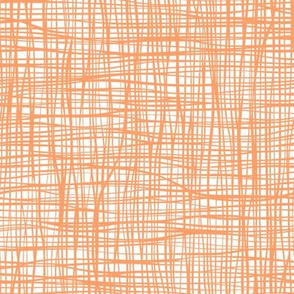 Grid  Stripes  Geometric Orange Halloween