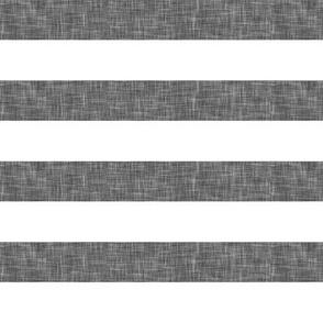 "grey linen stripe 1"" || the lumberjack collection"