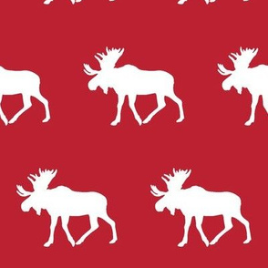 moose - paprika red || holiday