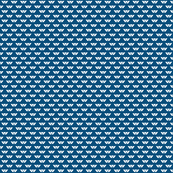 White on Blue mini