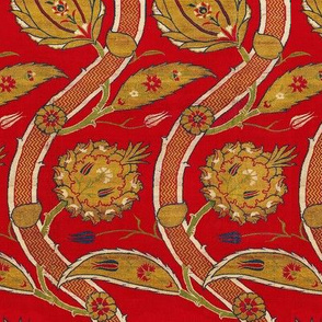 Turkey red fabric
