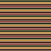 Bella Nina 2 Horizontal  Pinstripe in forest green, caramel beige, chocolate brown  and brick red, horizontal stripe