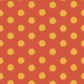 Everyday Flowers (orange)