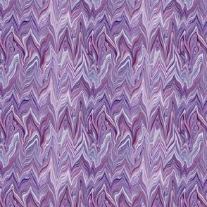 Dreamscape 2 Marbled Chevrons Texture,  Purple, Maroon, Mauve, small scale