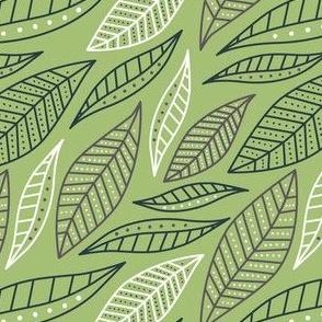 GEO Leaves (green)