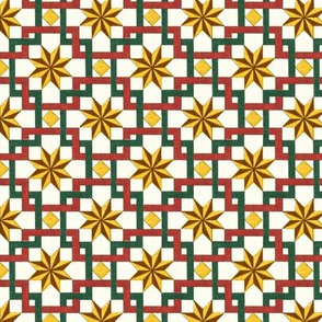 Early American tile designs