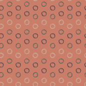 Summer Circles (peach)