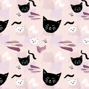 WATERCOLOUR CATS