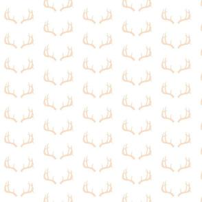 Deer Antlers in Blush Mini