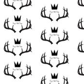 King of Wild Things Deer Antlers