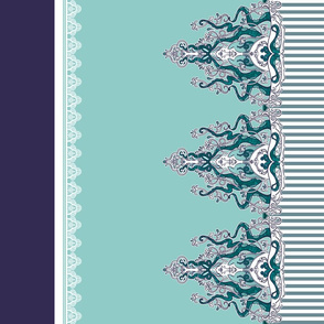 Striped Tentacle Border Coordinate