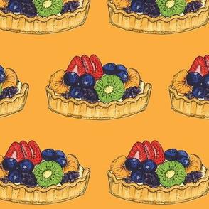 F is for Fruit Tart!