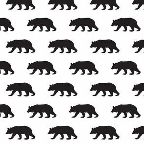 Bear Down in Black