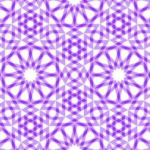 SC64 arabic gingham : violet mauve