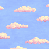 painted clouds - summer colors