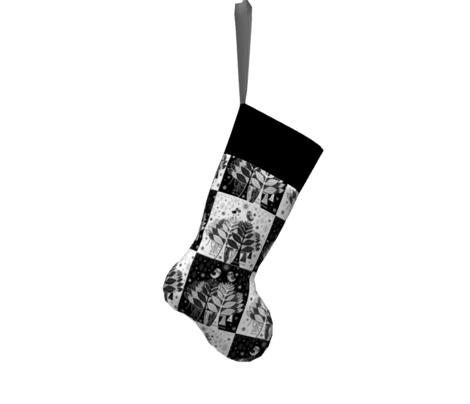 Scandinavian style Christmas Quilt