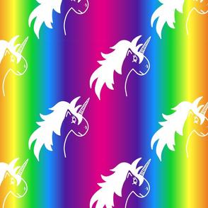 Big Rainbow Unicorn