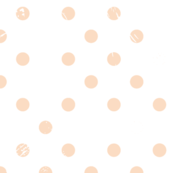 Distressed Dots in Blush