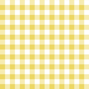 Gingham Yellow