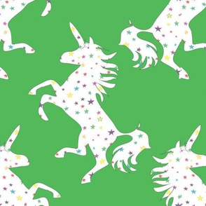 Unicorns in the Cosmos green