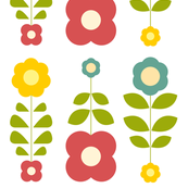 New Bold Flowers