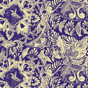 Talavera Tumble Sketch-purple