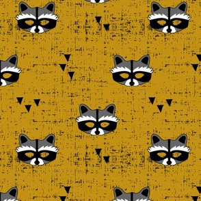 raccoon mask || myan