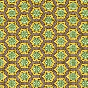 geometric retro circles