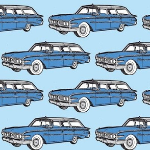 1960 Edsel Villager station wagon  in blue