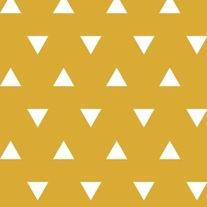 triangles (small scale) marigold || the yellowstone collection