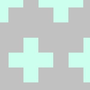 Mint Grey Plus / Large