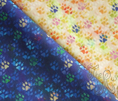 Cosmic dog paw prints - day