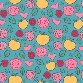 Sweet Yellow Apples