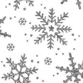 Snowflake Shimmer, Large Scale