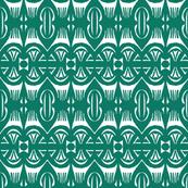 Tropical Drum Print - Island Green