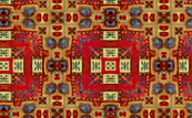 oriental carpet plaid