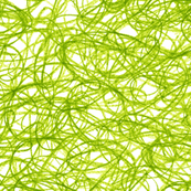 seamless crayon scribble in leaf green