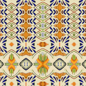 talavera-mex-tile- blue yellow