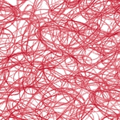 seamless crayon scribble in Christmas red