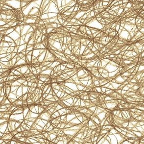seamless crayon scribble in brown