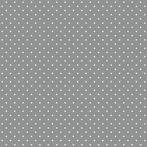 Grey polka dots for cute skulls