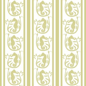 Seahorse Stripe Taupe